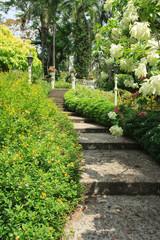 Nice Park walkway