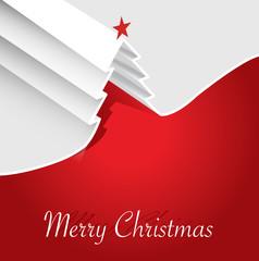 Albero di Natale biglietto auguri