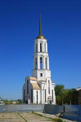 Строительство Сергиево-Елизаветинской церкви в Екатеринбурге