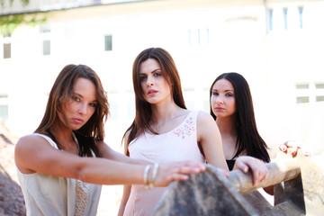 Models in der Schaufel