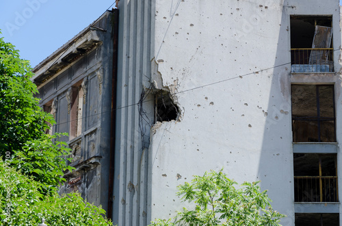 Building destroyed by War, Bosnia