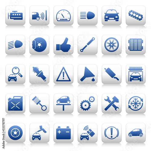 Car Icons (I)