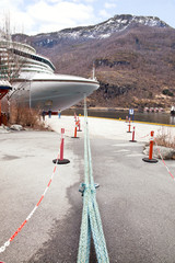 Parking cruise liner