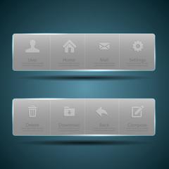 Web design Menu template