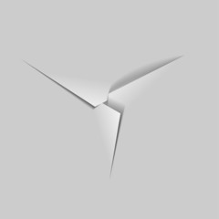 paper background / paper cut / vector
