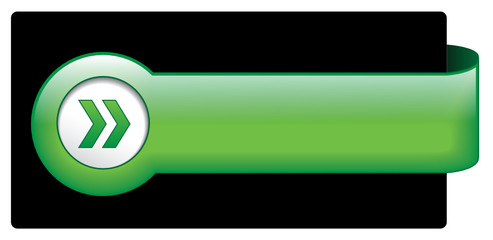 Green Web Button (banner badge symbol blank template vector go)