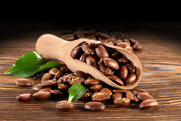 spoon of coffee