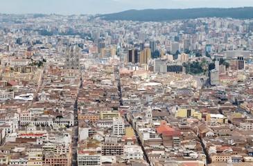 Quito, Blick vom Panecillo
