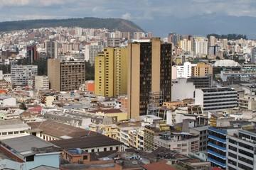 Modernes Viertel Mariscal in Quito