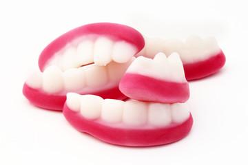 Confiserie - dentiers gélifiés