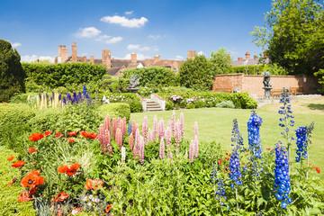 Nash house and New Place garden, Stratford-upon-Avon, Warwickshi