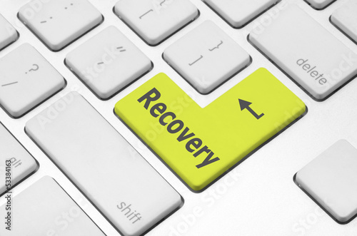 Recovery key on the computer keyboard