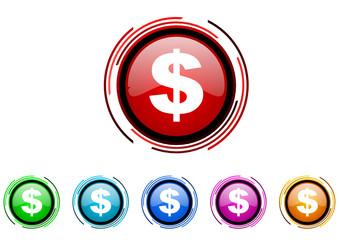 book vector glossy web icon set