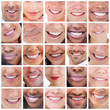 Collage of people smiling