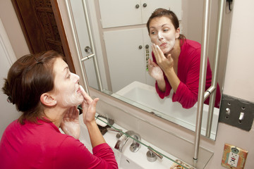 Young Woman's Morning Routine