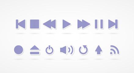 Set: player violet