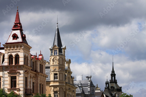 Häuser in Karlsbad