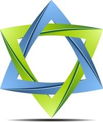 Origami eco star