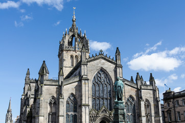 St. Giles Cathedral in Edinburgh, Scotland