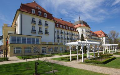 Classic mansion in Sopot, Poland