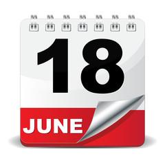18 JUNE ICON