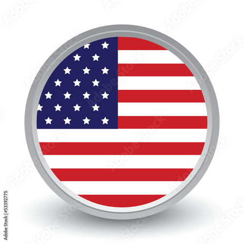 FLAG OF USA ICON