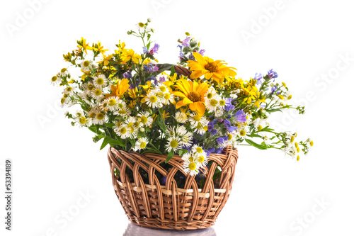 bouquet of summer flowers