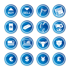 set trading icons