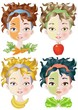 vegetal beauty masks