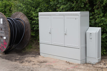 Moderne Breitband-Internet-Anschlüsse