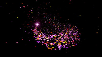 Particle wipe of the heart