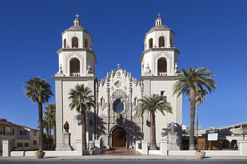Saint Augustine Cathedral in Tucson, Arizona