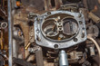 Car's carburetor disassembly