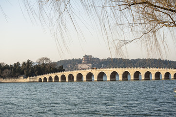 Seventeen Hole Bridge in Summer Palace, Beijing
