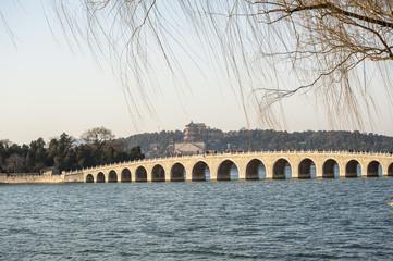 Seventeen Hole Bridge in Summer Palace, Beijing