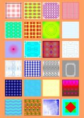 Types of handkerchiefs.