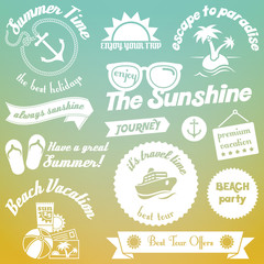 Summer elements design