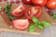 tomate et basilic
