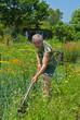 Gardener with hoe 9