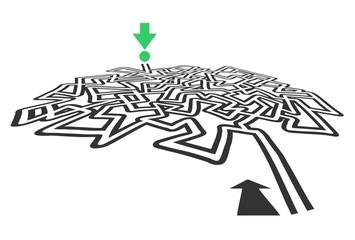 Maze design