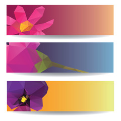 Abstract vector background brochure template