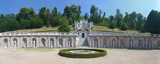 Garden of the Villa della Regina (Queen's villa) in Turin, Italy