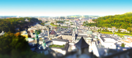 Panoramic view - Salzburg.