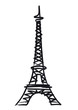 Tour Eiffel - illustration - 53411944