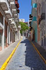 Colorful San Juan street