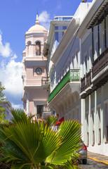 Clock tower in Old San Juan