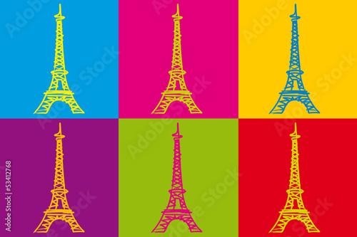 Tour Eiffel_Couleurs
