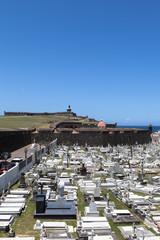 Fort and Santa Maria Magdalena de Pazzis colonial era cemetery l
