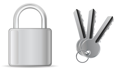 padlock with key batch
