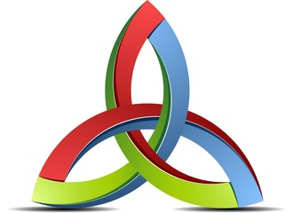 Trinity 3D sign